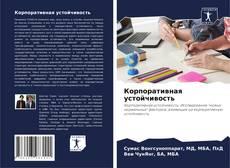 Bookcover of Корпоративная устойчивость