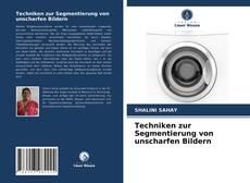 Bookcover of Techniken zur Segmentierung von unscharfen Bildern