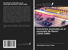 Buchcover von Conciertos musicales en el municipio de Harari (1950-1980)
