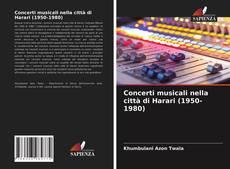 Portada del libro de Concerti musicali nella città di Harari (1950-1980)