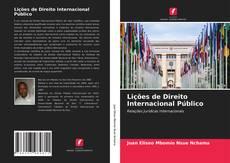 Обложка Lições de Direito Internacional Público