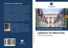 Buchcover von Lektionen im Völkerrecht