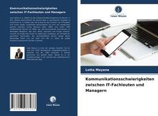 Copertina di Kommunikationsschwierigkeiten zwischen IT-Fachleuten und Managern