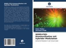 Portada del libro de MIMO-FSO-Kommunikation mit hybrider Modulation