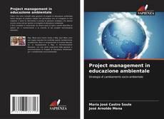 Copertina di Project management in educazione ambientale