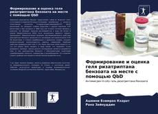 Copertina di Формирование и оценка геля ризатриптана бензоата на месте с помощью QbD