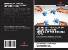 Bookcover of LEARNING THE CRAFT OF TEACHING SOCIAL STUDIES AT THE PRIMARY LEVEL