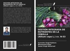GESTIÓN INTEGRADA DE NUTRIENTES EN LA CEBOLLA (Allium cepa L.) cv. N-53的封面