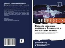 Portada del libro de Процесс эволюции пирамиды Декуссатио и оптического хиазма