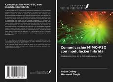 Capa do livro de Comunicación MIMO-FSO con modulación híbrida