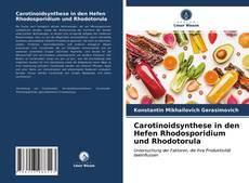 Copertina di Carotinoidsynthese in den Hefen Rhodosporidium und Rhodotorula