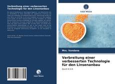 Copertina di Verbreitung einer verbesserten Technologie für den Linsenanbau