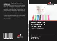 Resistenza allo scivolamento in ortodonzia kitap kapağı