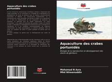 Aquaculture des crabes portunidés kitap kapağı