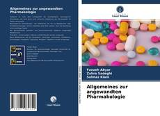 Bookcover of Allgemeines zur angewandten Pharmakologie