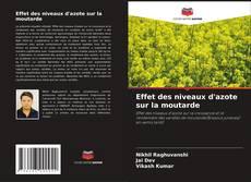 Effet des niveaux d'azote sur la moutarde kitap kapağı