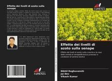Bookcover of Effetto dei livelli di azoto sulla senape