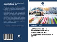 Copertina di Lehrstrategien in Hauswirtschaft und Unternehmertum