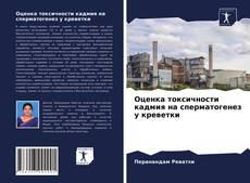 Bookcover of Оценка токсичности кадмия на сперматогенез у креветки