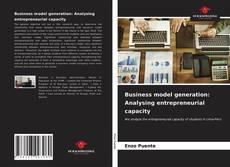 Portada del libro de Business model generation: Analysing entrepreneurial capacity