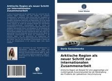 Copertina di Arktische Region als neuer Schritt zur internationalen Zusammenarbeit