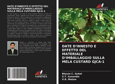 Capa do livro de DATE D'INNESTO E EFFETTO DEL MATERIALE D'IMBALLAGGIO SULLA MELA CUSTARD GJCA-1