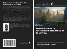 Capa do livro de Determinantes del crecimiento económico en la UEMOA