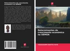 Capa do livro de Determinantes do crescimento económico na UEMOA