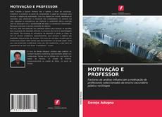 MOTIVAÇÃO E PROFESSOR的封面