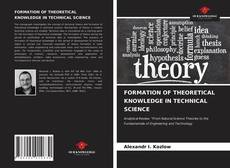 Couverture de FORMATION OF THEORETICAL KNOWLEDGE IN TECHNICAL SCIENCE