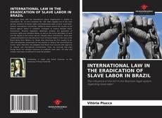 Bookcover of INTERNATIONAL LAW IN THE ERADICATION OF SLAVE LABOR IN BRAZIL