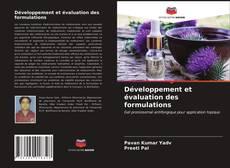Développement et évaluation des formulations的封面