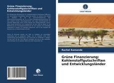 Portada del libro de Grüne Finanzierung: Kohlenstoffgutschriften und Entwicklungsländer
