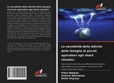 Capa do livro de La sensibilità delle attività delle famiglie di piccoli agricoltori agli shock climatici