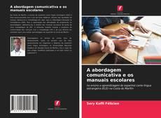 Обложка A abordagem comunicativa e os manuais escolares