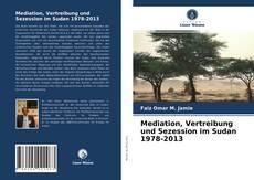 Capa do livro de Mediation, Vertreibung und Sezession im Sudan 1978-2013