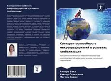 Конкурентоспособность микропредприятий в условиях глобализации kitap kapağı