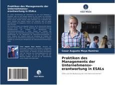Bookcover of Praktiken des Managements der Unternehmensverantwortung in ESALs