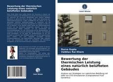 Borítókép a  Bewertung der thermischen Leistung eines natürlich belüfteten Gebäudes - hoz