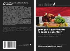 Buchcover von ¿Por qué la gente utiliza la banca de agentes?