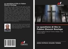 Обложка La questione di Dio in Fabien Eboussi Boulaga