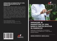Buchcover von IMMAGINE DI MARKETING DI UNA BANCA PARTECIPATIVA IN MAROCCO