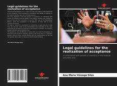 Bookcover of Legal guidelines for the realization of acceptance