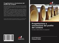 Обложка Progettazione e simulazione del profilo del cordone