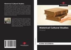 Capa do livro de Historical Cultural Studies