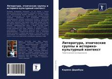 Литература, этнические группы и историко-культурный контекст的封面