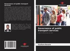 Capa do livro de Governance of public transport services