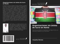 Bookcover of Organizaciones sin ánimo de lucro en Kenia