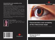 Bookcover of Characteristics and variability of the iridocorneal angle