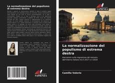 Copertina di La normalizzazione del populismo di estrema destra
